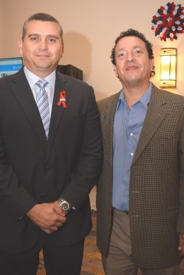 Farid Kattúm y Humberto Salgado.