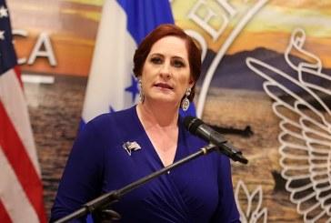 """Heide Fulton: """"Valoramos mucho nuestra relación fuerte con el Gobierno de Honduras"""""""