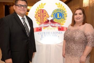Club de Leones Leo 80´s juramenta su nueva presidenta