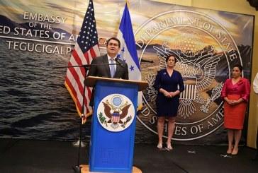 Hernández agradece acompañamiento de EEUU en lucha por la paz y la tranquilidad de Honduras