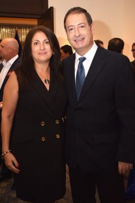 Katia Abudod y Jack Kafati