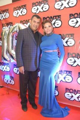 La apreciada pareja de esposos, Xavier y Ana de Sierra.