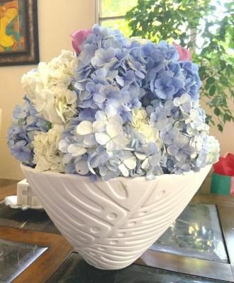 La fresca decoración en la despedida de soltera de Andrea Interiano Discua