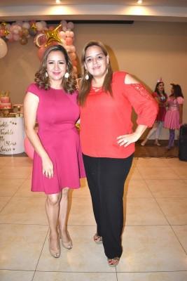 Lesly Borjas y Ligia Pascua