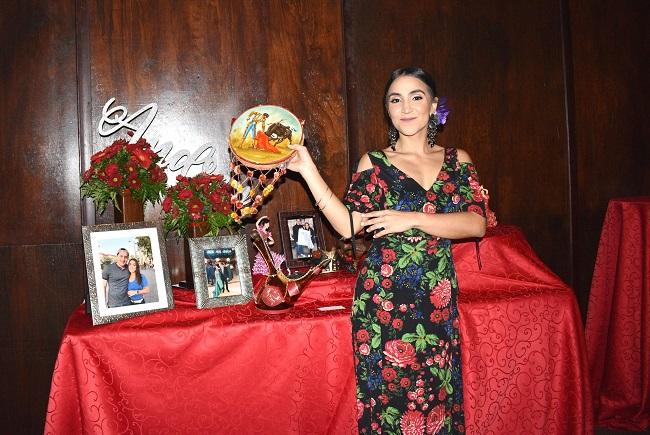 Audrey Verdial y su despedida de soltera al estilo flamenco