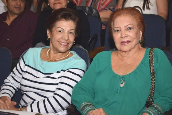 Miriam Rivera y Hilda Córdova