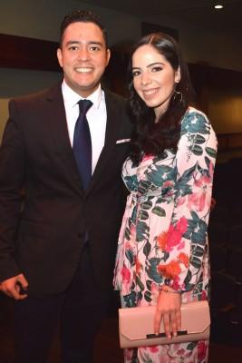 Nimrod Rodríguez y Emely Guerra