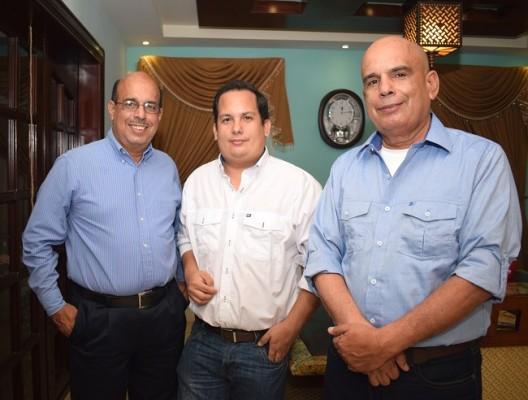 Noe Tejada, Mario Tejada Jr. y Mario Tejada