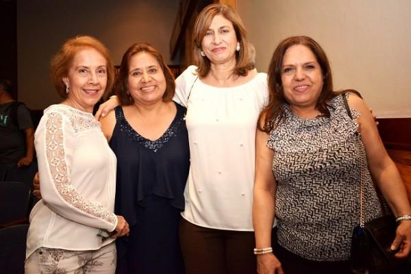 Rebecca Verdial, Celia Pinto, Yadira Andino y Siham Zummar.