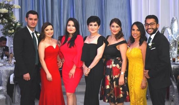 Ricardo Pineda, Josselyn Chinchilla, Rosibel Tronconi, Maria Antonia Rivera, Andrea Silva, Neiba Ramírez y Elías Cruz
