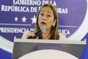 Rocío Tábora: El Gobierno trabaja en un plan para reorientar recursos presupuestarios de secretarías de Estado