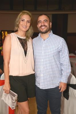 Trizia Yanes y Johny Valladares.