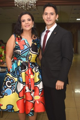 Vanessa Reyes y Walter Hernández.