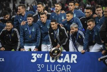 Argentina se queda con el tercer lugar de la Copa América Brasil-2019