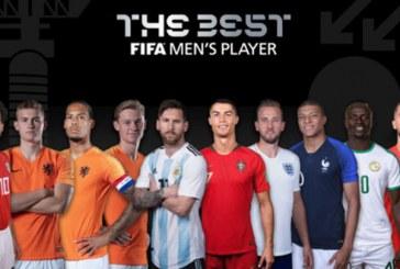 Messi, Cristiano, Hazard y Mbappe, candidatos al The Best Mejor Jugador 2018-19