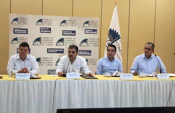 Directivos de CCIC y rectores de universidades abordan crisis social de Honduras