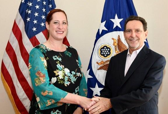 Lawrence j. Gumbiner asume como Encargado de Negocios de la Embajada de los EEUU en Honduras