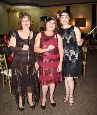 Bessy Robles, Licida López y Julissa Lara