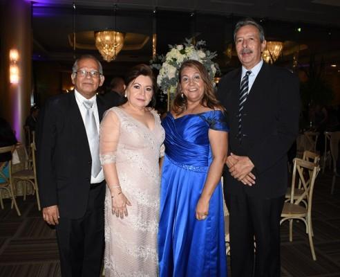 Calixto García, Lucy de García, Martha y Milton Sagastume