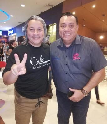 """Carlos Membreño, producto de la nueva pelicula hondureña """"Café con Aroma a mi Tierra"""" con Jimmy Tovar"""