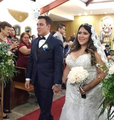 Carlos y Lorraine derrocharon sus emociones en una ceremonia verdaderamente inolvidable