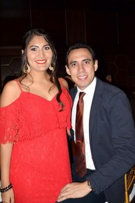 Celeste Pineda y José Rivera.