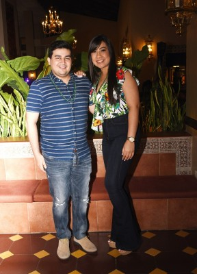 Daniel Martínez y Azaria Padilla