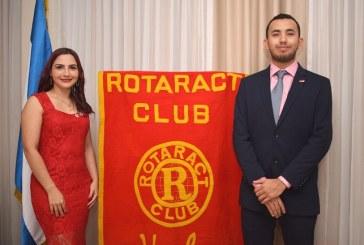 Jorge Balmaceda es el nuevo presidente de Club Rotaract Usula