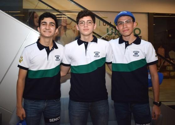Gabriel Abuid, Ramzy Larach y Carlos Cantillano.