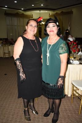 Hilda Bonilla y Carolina Colindes