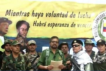 Ex número dos de la guerrilla de las FARC anuncia en un video que retomará la lucha armada en Colombia