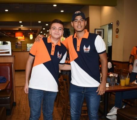 Jonathan Avihy y Eduardo Romero