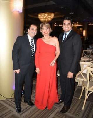 José Jaar, Lilian Jaar y Eddy Sarmiento