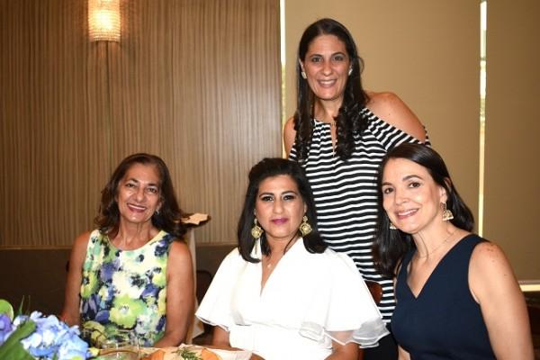 Karen Daccaret, Julliette de Nazar, Tuti Mahchi y Elke Bendeck