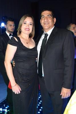 Karina y Edwin Argueta.