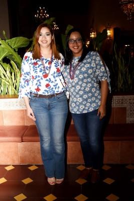 Kayssi Maradiaga y Andrea Vásquez