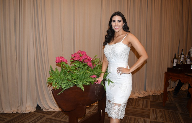 Melanie Andonie despide su soltería con inspiración veneciana