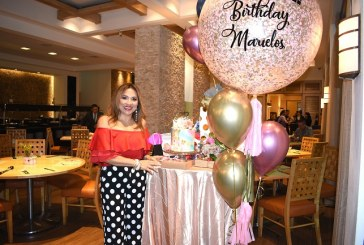 Una tarde de café celebrando el cumpleaños de Marielos