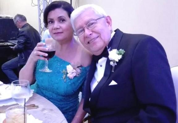 Lesbia Noriega y Arturo Paz