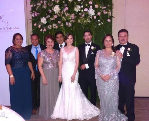 Leticia Martínez, Eldin Flores, Aura Flores, Clemente Flores, Karen Mejía, Salvador Paz, Diana Verdial y Gustavo Mejía