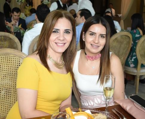 Leyla Abuid y Wadia Abuid
