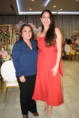 Leyla Ordoñez y Karla Euceda