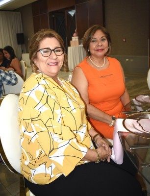 Lorena San Martin y Margarita Pineda