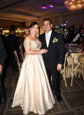 Los padrinos de boda, Juana Jaar y Erick Lupi