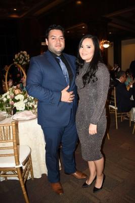 Los testigos de boda, Christopher Hernández y Evelyn Jiménez de Hernández
