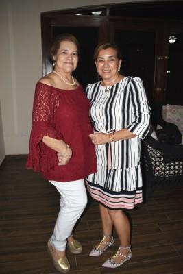 María Eugenia Zerón y Mirta Álvarez