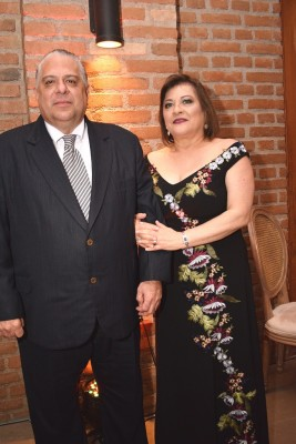Mario y Agueda Prieto.