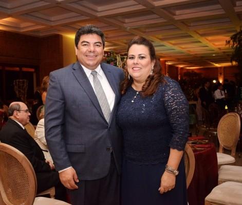 Mauricio y María Eugenia Arias.
