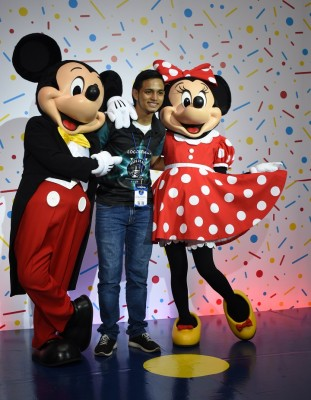 Mickey Mouse-multiplaza 16