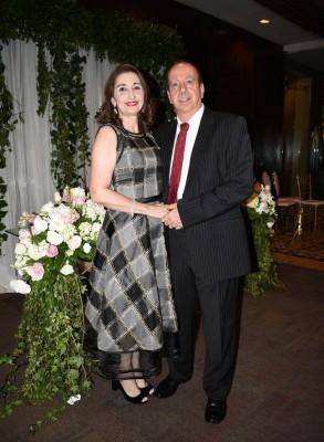 Neda y Jorge Canahuati